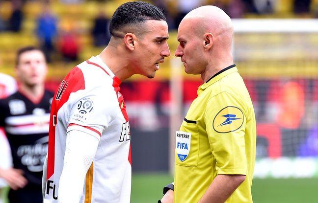 Nabil Dirar a écopé de huit matchs de suspension pour avoir fortement contesté une décision de TOny Chapron, lors de Monaco-Nice (1-0) le 6 février 2016.
