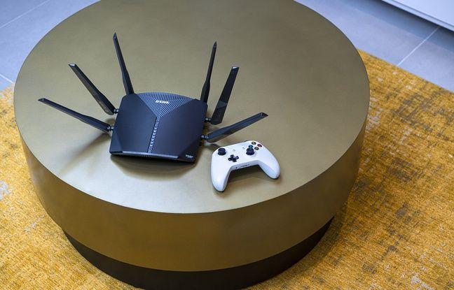 Un routeur Wifi Mesh.