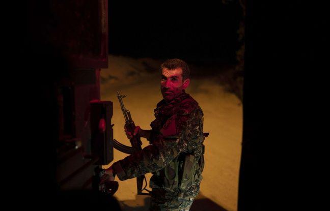 Un combattant kurde des Forces démocratiques syriennes, le 19 février 2019.