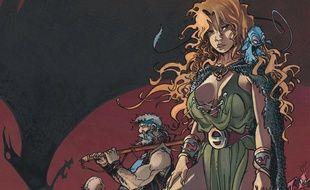«La Quête de l'oiseau du temps», référence de la BD d'heroic fantasy, aux éditions Dargaud