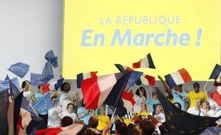 Le congrès de La Republique en Marche, le 8 juillet 2017 à Paris.