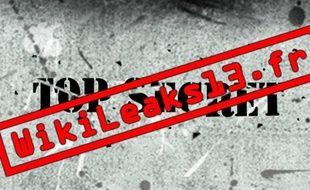 Capture d'écran du site wikiLeaks13, le 6 janvier 2010.