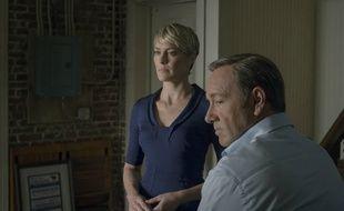 Robin Wright et Kevin Spacey dans la saison 2 de «House of Cards».