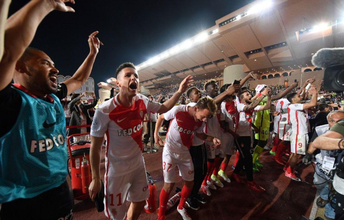 Les Monégasques sont champions de France !  – BORIS HORVAT / AFP
