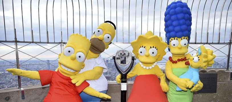 Lors du 30e anniversaire de la série Les Simpson, le 17 décembre 2018, à New York.