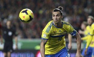 Zlatan Ibrahimovic,le 15 novembre 2013.
