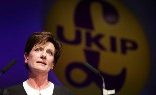 L'ancienne dirigeante du Ukip Diane James dans le sud de l'Angleterre, le 4 octobre 2016.