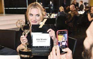 Kate Winslet aux 73e Emmy Awards, le dimanche 19 septembre 2021, à Los Angeles.