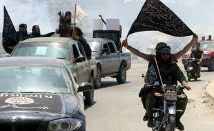 Des combattants du Front Al-Nosra, affilié à Al-Qaïda, ici à Alep le 26 mai 2015