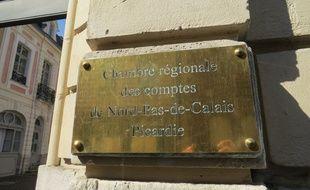 A Arras, le 12 septembre 2014 - La Chambre regionale des Comptes.
