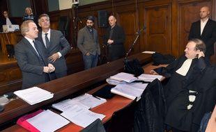 L'ancien majordome et cinq journalistes sont prévenus dans le 4e volet de l'affaire Bettencourt. AFP PHOTO / MEHDI FEDOUACH