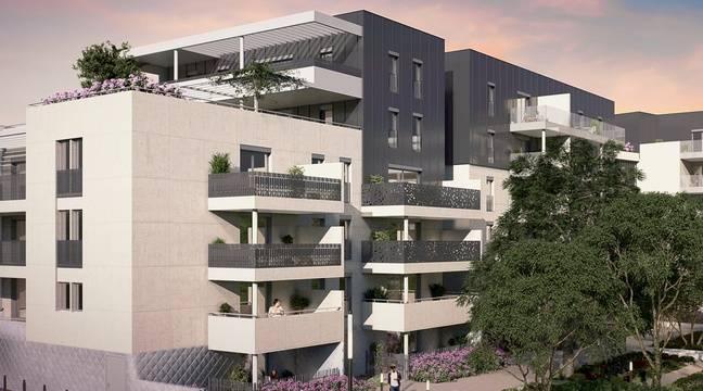 montpellier un complexe immobilier de luxe la place de la clinique saint roch. Black Bedroom Furniture Sets. Home Design Ideas