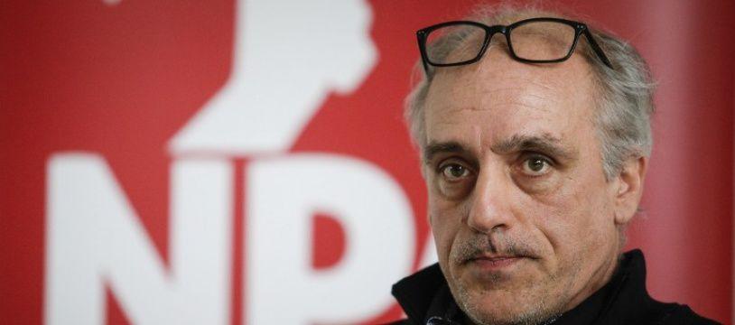 Le candidat à la présidentielle pour le Nouveau parti anticapitaliste Philippe Poutou