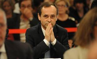 Le maire de Béziers Robert Ménard, le 4 avril 2014 à Béziers