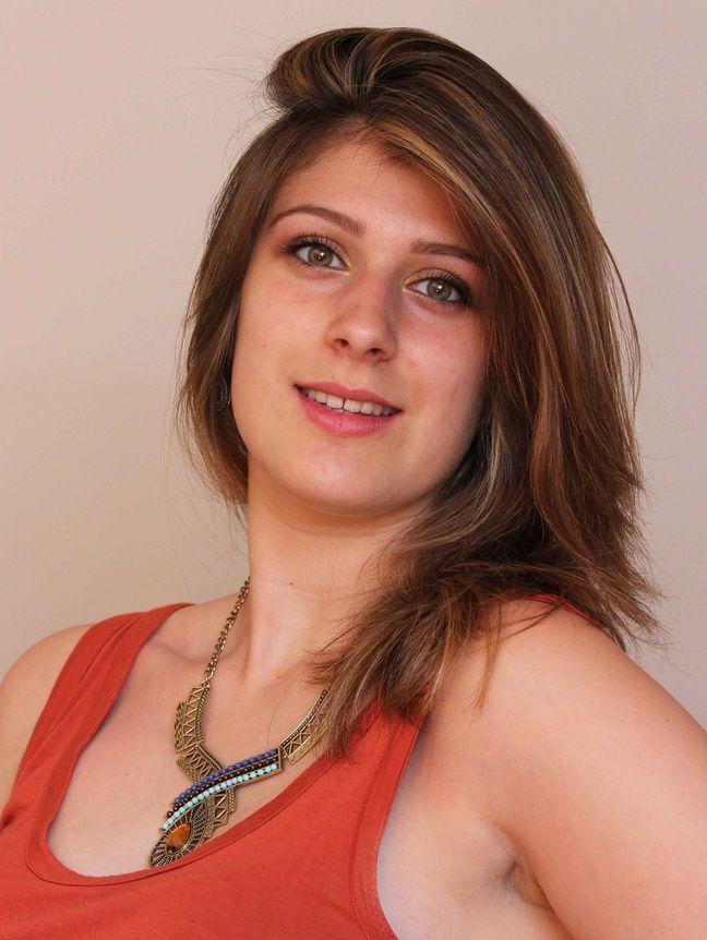 Ludivine Pineau, 1m76, 18 ans, Varades, licence Histoire de l'art et archéologie