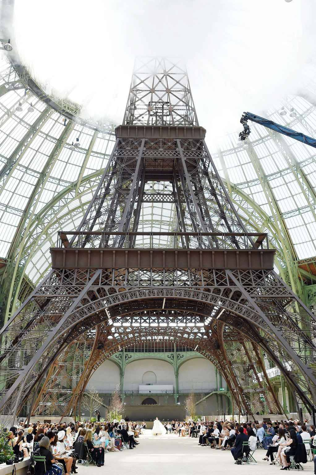 Chanel show, Runway, Fall Winter 2017, Haute Couture Fashion Week, Paris, France  /Rex_Chanel_8886261CJ//1707041558