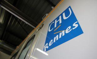 Illustration d'une ambulance de secours du Samu, ici au CHU de Rennes.