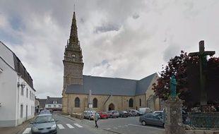 Le corps a été découvert ce mardi matin dans l'église de Pluvigner (Morbihan).