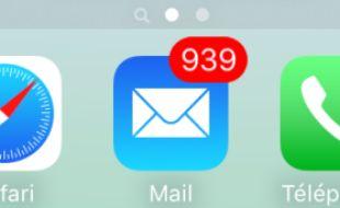 939 mails non lus, dont sans doute 9 intéressants.