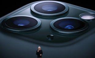 L'iPhone 11 Pro propose un triple capteur photo plutôt imposant.