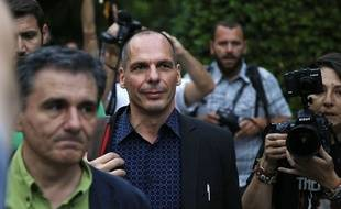 Le ministre des Finances grec Yanis Varoufakis, à Athènes le 28 juin 2015.