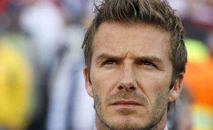 David Beckham à Bloemfontein en Afrique du sud, le 27 juin 2010.