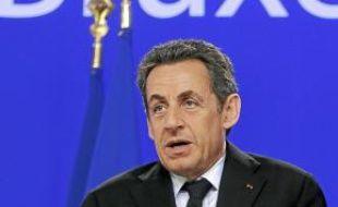 Nicolas Sarkozy semble s'être résigné à la perte prochaine du triple A.