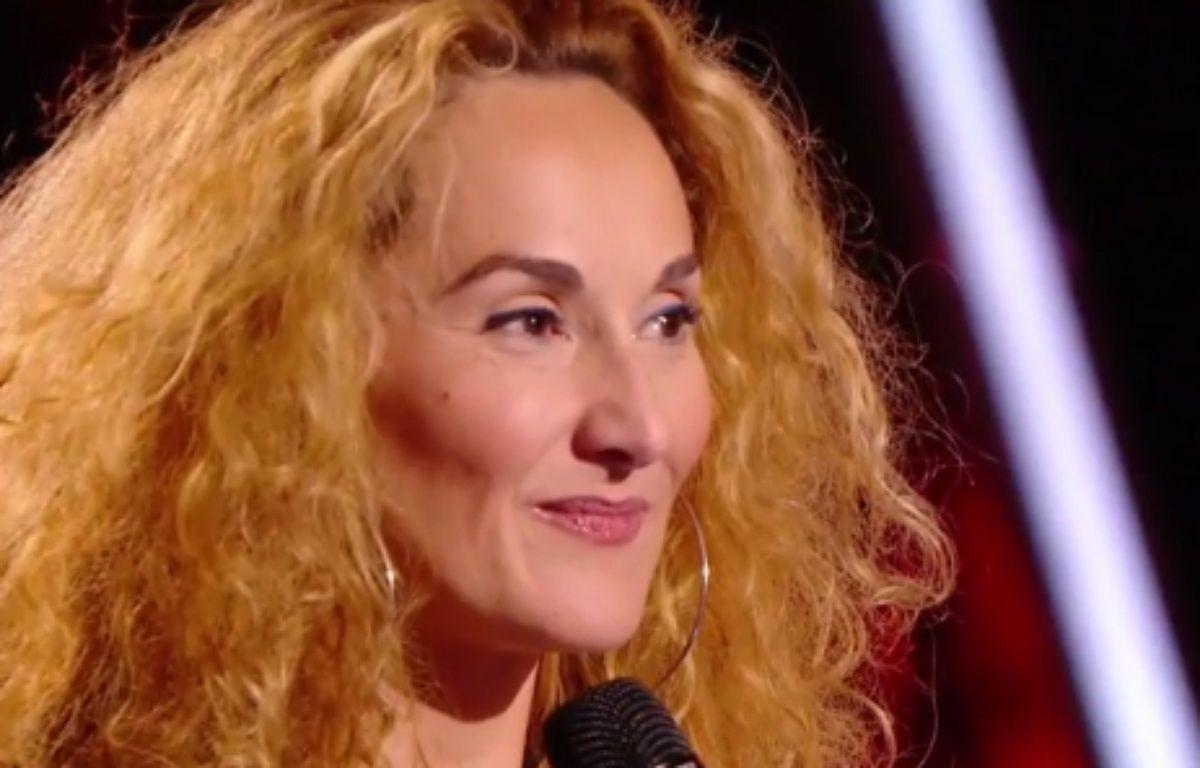 Guylaine, à The Voice samedi. – TF1