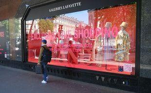 Les Galeries Lafayette vont rouvrir dès ce samedi matin.