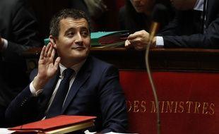 Gérald Darmanin, à l'Assemblée nationale.