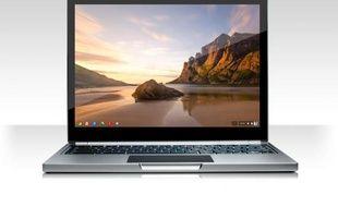 Google a présenté le Chromebook Pixel, le 21 février 2013.