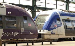 Du 11 novembre au 13 novembre, à midi, la gare de Perrache ne verra circuler aucun train. Illustration.