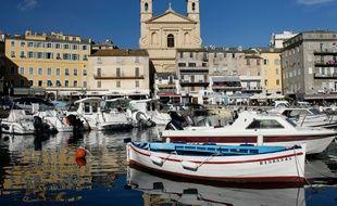 Le port de Bastia le 8 novembre 2012
