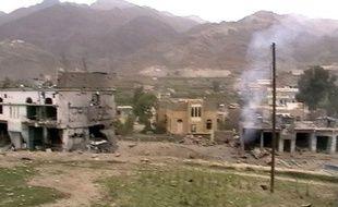 La province d'Haydan avait déjà été visé par d'intenses combats en 2009 (photo d'époque).