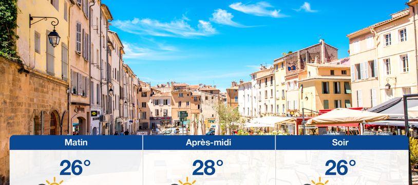 Météo Aix-en-Provence: Prévisions du dimanche 18 août 2019
