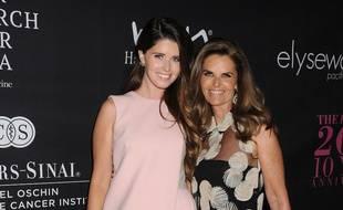 L'auteure Katherine Schwarzenegger et sa mère, la nièc de JFK, Maria Shriver
