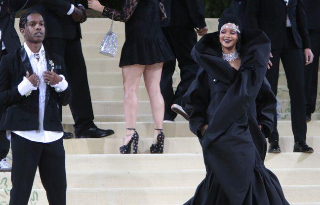 Rihanna et ASAP Rocky s'affichent très amoureux au Met Gala... Kate Hudson est fiancée...