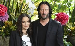 Winona Ryder et Keanu Reeves le 18 août 2018 à Los Angeles.