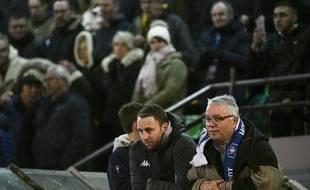 Jean-Paul Simon (à droite), avec l'entraineur de l'ASM Belfort Anthony Hacquard.