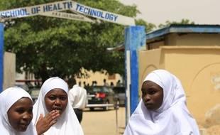 Les lycéennes ont été enlevées en février 2018 dans le nord-est du Nigeria.