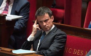 Manuel Valls à l'Assemblée nationale, le 13 juillet 2016.