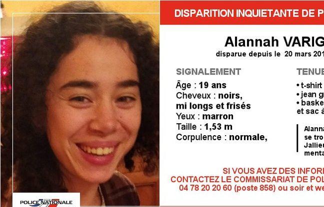 Lyon: Alannah, jeune femme handicapée, a disparu depuis six jours