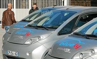 Le service Bluely qui sera déployé en octobre sera testé à Lyon samedi.