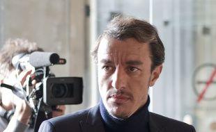 Karim Achoui en 2013, lors du procès concernant une tentative de meurtre à son encontre.
