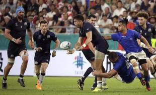 Le match Ecosse contre Samoa