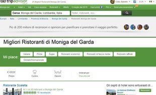 Un site italien a créé un faux restaurant sur Tripadvisor.