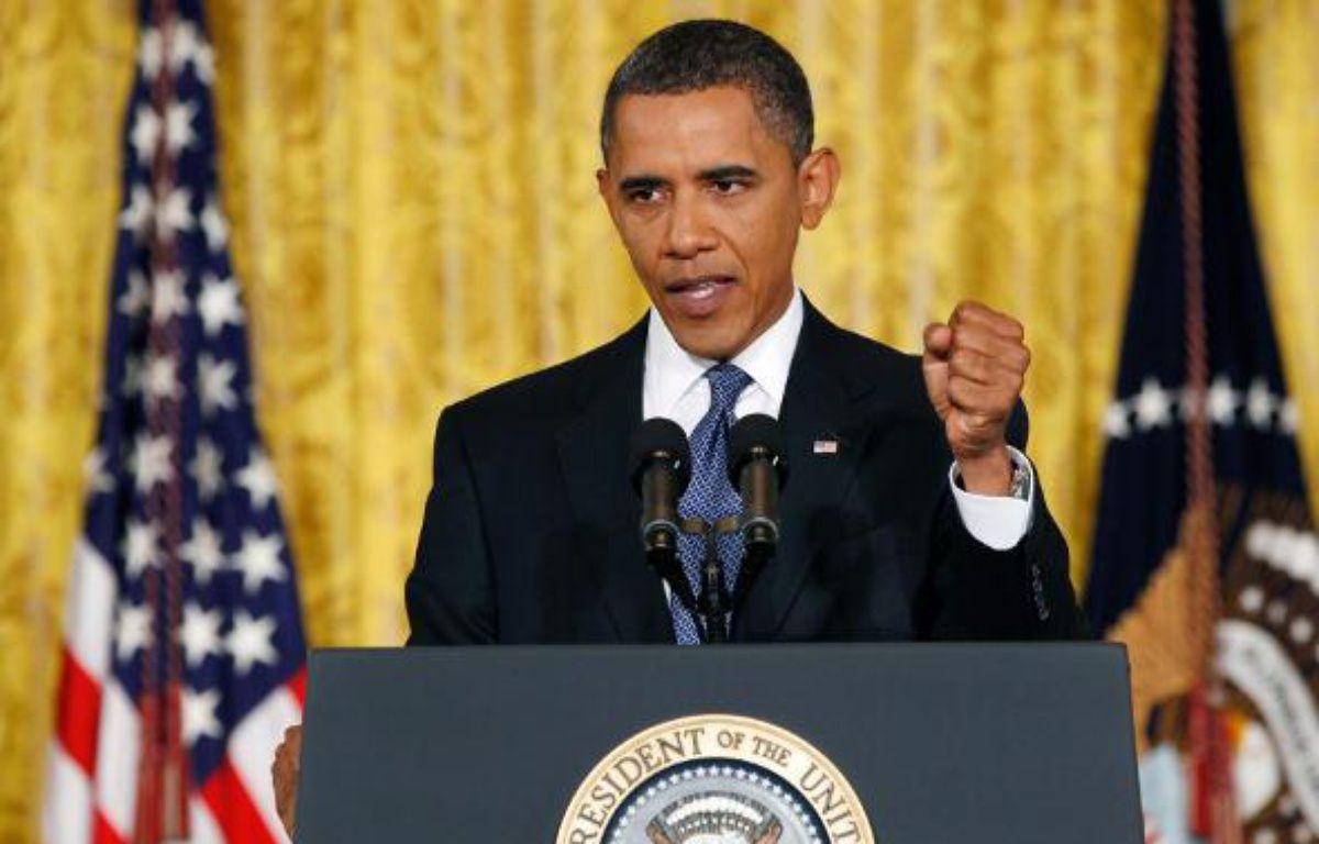 Barack Obama, lors d'une conférence de presse à la Maison Blanche, le 10 septembre 2010 – REUTERS/L.DOWNING