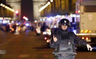 Une fusillade a éclaté sur les Champs-Elysées à Paris le 20 avril 2017.