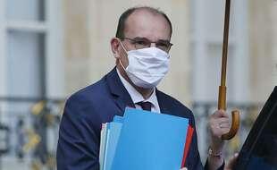 Jean Castex aura bien besoin d'un parapluie dans les Alpes-Maritimes.