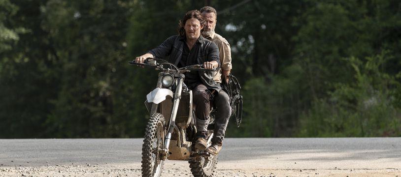Norman Reedus et Andrew Lincoln dans «The Walking Dead».